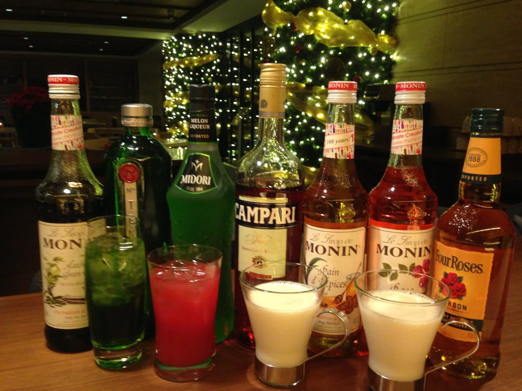 12月WELCOME DRINK☆